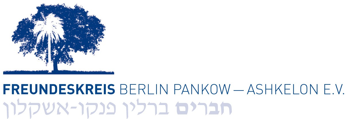 Logo des Freundeskreis Berlin Pankow–Ashkelon e.V.
