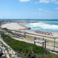 Ashkelon, Blick auf das Mittelmeer