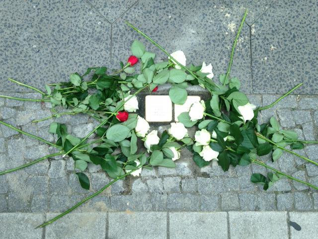 Stolpersteine für Therese und Max Oppenheimer