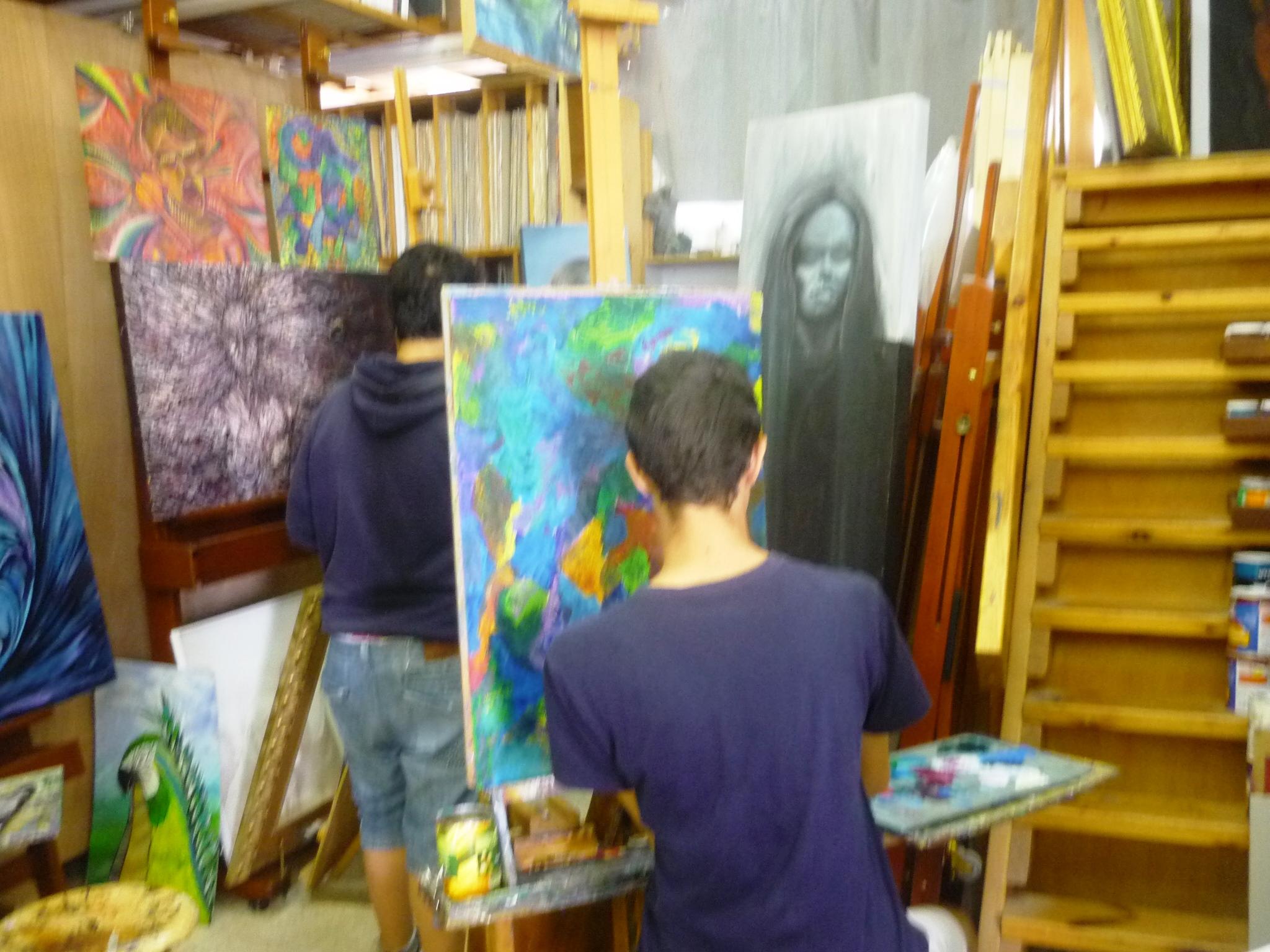Besuch der Jugendkunstschule in Ashkelon