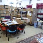 Besichtigung des Kibbuzes Nitzanim. Archiv.