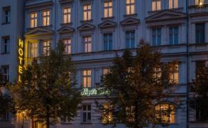 Myer's Hotel, Außenansicht. Quelle: http://www.myershotel.de/